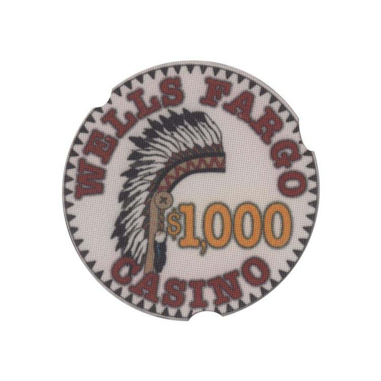 Casino Wells Fargo 1000 Dollars Chip All Casino Chips
